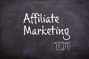Affiliate Marketing 101 Chalk Board